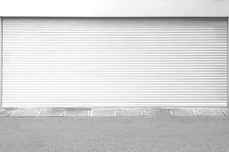 white garage door texture. #83525869 - White Metal Roller Door Shutter Background And Texture Garage