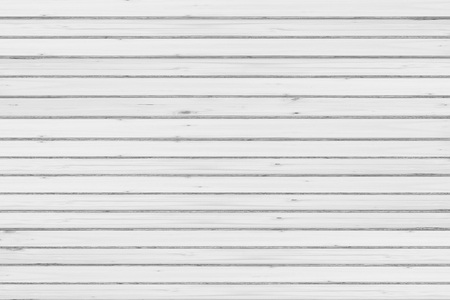 White natural wood wall texture and background seamless Stock Photo