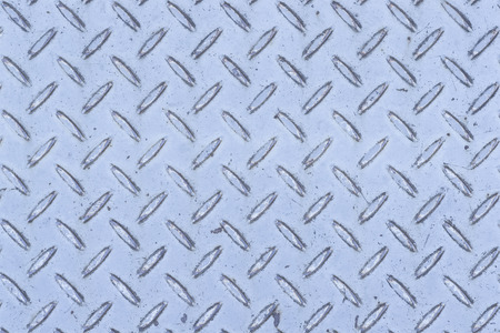 Diamond metal plate texture and background