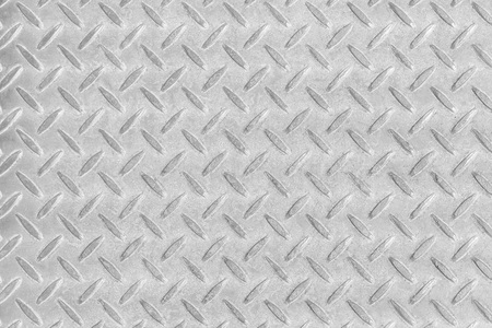 Grey diamond plate background and pattern