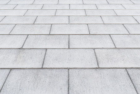 stone pavement background in perspective Banque d'images