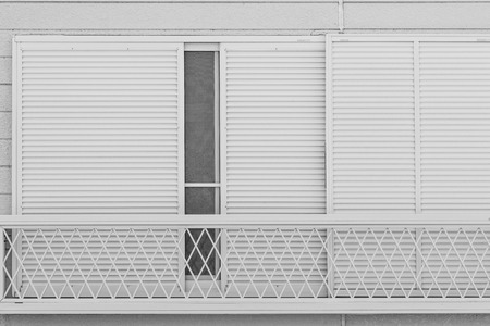 White Slilding window background
