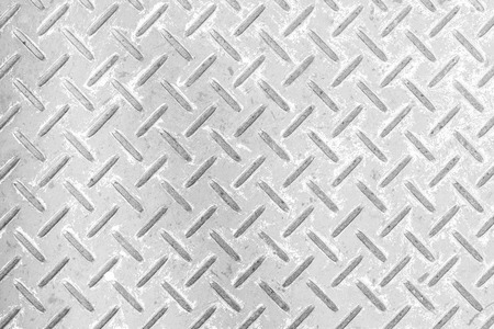 Silver diamond plate floor background