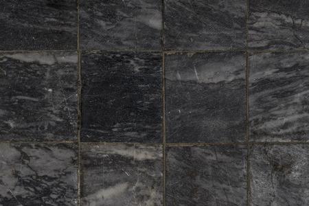 Black stone floor tile seamless background