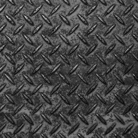 Black diamond plate pattern and background