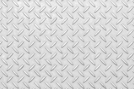 White diamond plate texture and seamless background