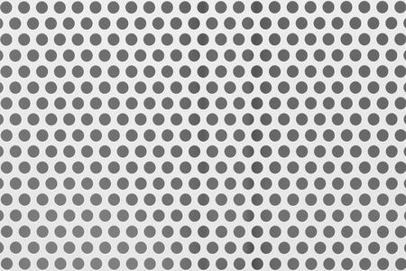 White  metal mesh seamless background Banco de Imagens