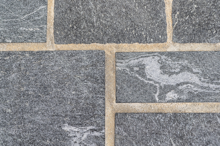 Black stone floor tile pattern and background 스톡 콘텐츠