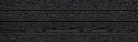 Panorama of Black wood wall pattern and seamless background