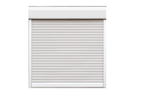 Window shutter isolated on white background Banque d'images - 105266873