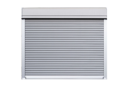 Window shutter isolated on white background Archivio Fotografico - 105449622