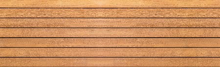 Panorama of vintage brown wood wall pattern and background seamless