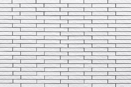 White modern wall background , White concrete tile wall pattern and background Stock Photo