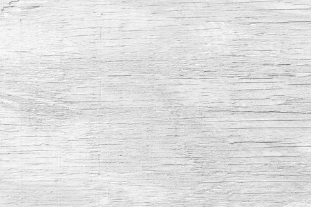 White wood wall texture and background Stock Photo