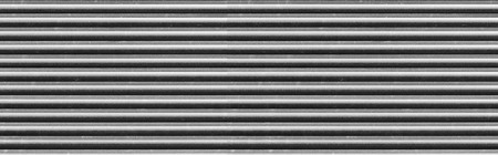 Panorama of Black aluminum sheet texture and background 写真素材