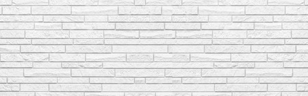 Panorama of White modern wall background , White concrete tile wall pattern and background 版權商用圖片