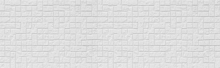 Panorama of White modern tile wall background and texture Stockfoto - 123094093