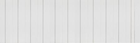 Panorama van roestvrij staalplaat geschilderd witte textuur en naadloze achtergrond