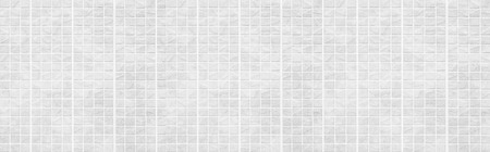 Panorama of White brick wall seamless background and texture Reklamní fotografie