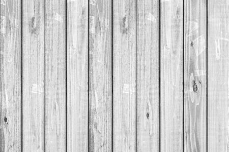 Fondo y textura de valla de madera blanca