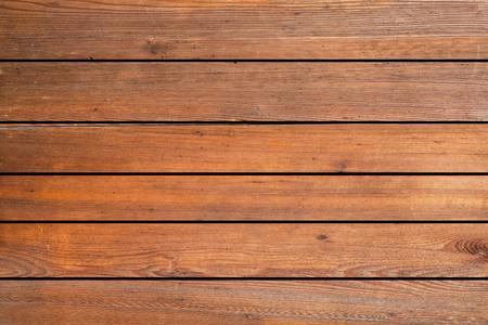 Brązowy drewniany płot tekstura i tło