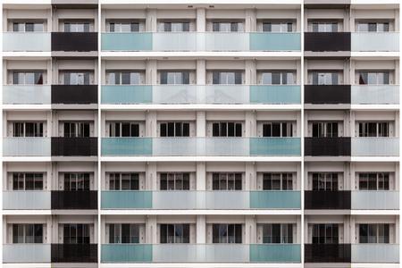 New high-rise condominium 스톡 콘텐츠