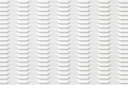 White painted steel fence pattern and seamless background