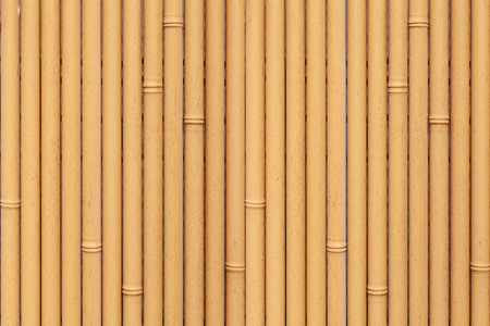 Brown bamboo fence seamless background and pattern
