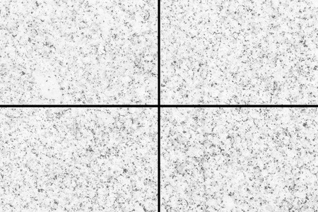 White polished stone floor texture and background