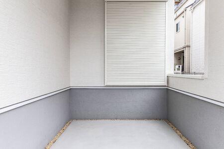 Small car park at home