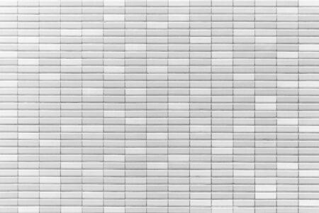 White stone brick wall seamless background
