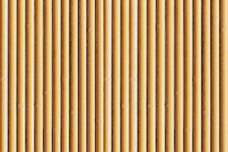 Brown bamboo fence texture and background