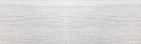Panorama of White natural wood texture and seamless background 写真素材