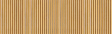 Panorama of Brown bamboo fence texture and background