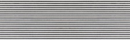 Panorama of white Corrugated metal texture surface or galvanize steel