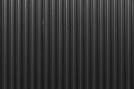 Black Corrugated metal texture surface or galvanize steel