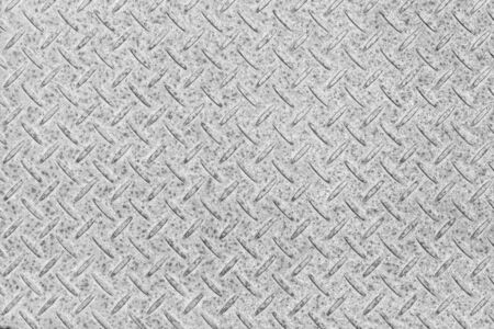 Gray colored diamond plate texture and background