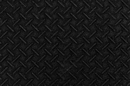 Black diamond plate texture and background seamless
