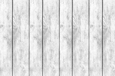Vintage white wooden fence texture and seamless background