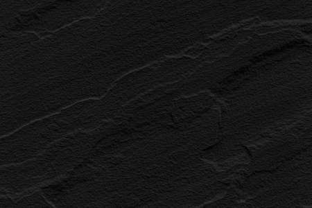 Texture and Seamless background of black granite stone