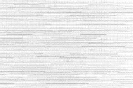Close - up White cotton stripes texture and seamless background Standard-Bild