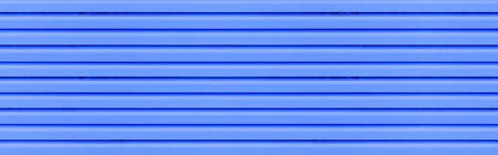 Panorama of Blue Corrugated metal background and texture surface or galvanize steel Stock fotó