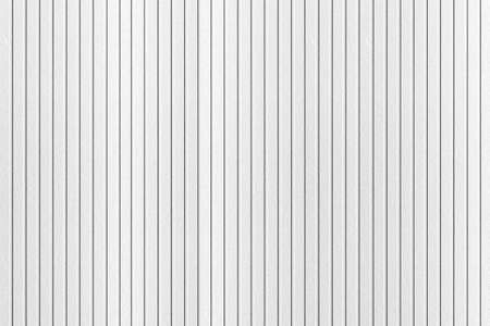 Modern White plastic wall with stripes pattern and seamless background Archivio Fotografico
