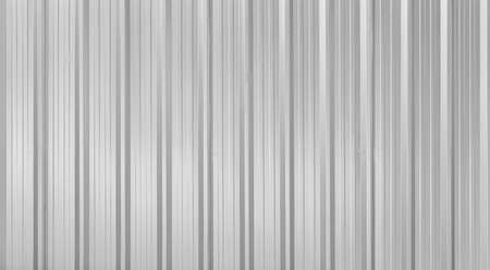 Panorama of Line Pattern Silver Aluminum Fence pattern and seamless background