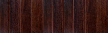 Panorama of Brown natural wood texture and seamless background