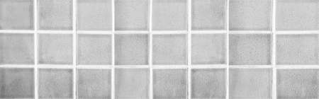 Panorama of White porcelain floor tiles pattern and background seamless