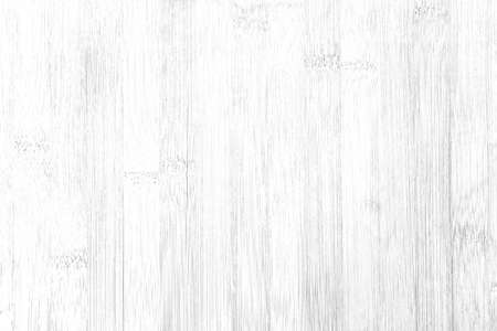 White vintage wooden table top pattern texture and seamless background Foto de archivo