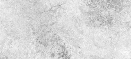 Panorama of White grey concrete texture, Rough cement stone wall, Surface of old and dirty outdoor building wall, Abstract nature seamless background Standard-Bild