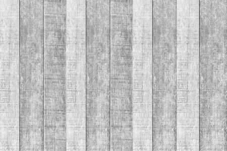 Old white vintage wooden wall pattern and seamless background