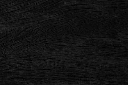 Black vintage wooden table top pattern texture and seamless background